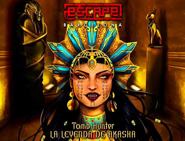 ▷ TOMB HUNTER: LA LEYENDA DE AKASHA - Escape Barcelona Santa Coloma SANTA  COLOMA DE GRAMENET | EscapeRadar