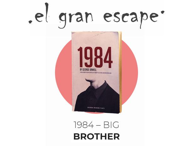 1984 Big Brother Cerrada El Gran Escape 1 Madrid