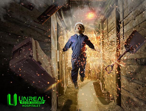 Resultado de imagen de la mina unreal room escape